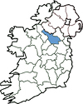 Map of Cavan