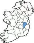 Map of Kildare