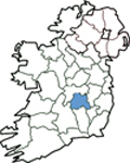 Map of Laois