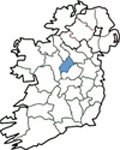 Map of Longford