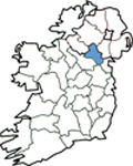 Map of Monaghan
