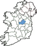 Map of Westmeath