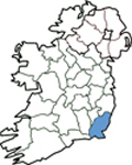 Map of Wexford