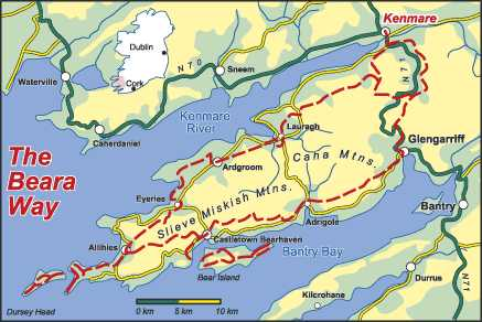 The Beara Way Walk